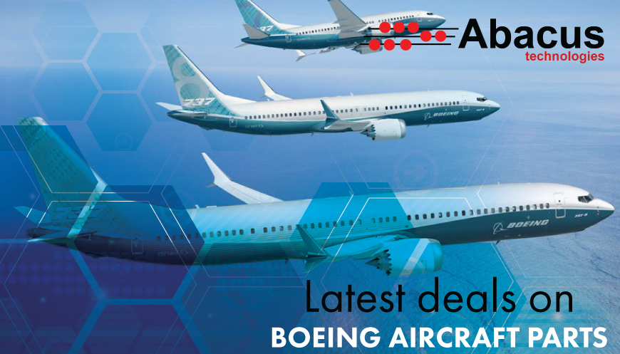 Latest Deals on Boeing Aircraft Parts | Abacus Technologies